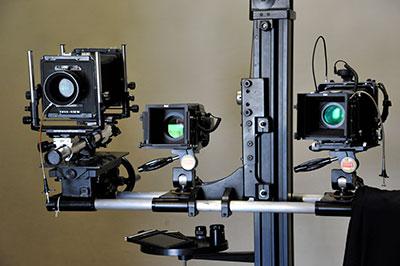 スタジオ撮影用カメラ