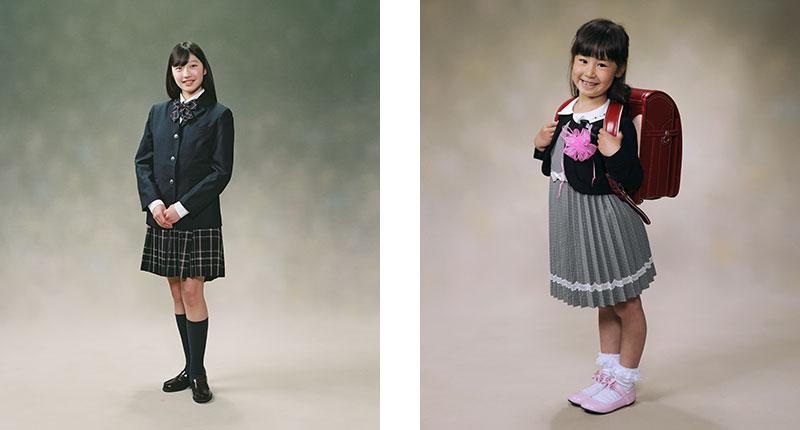 入学卒業写真